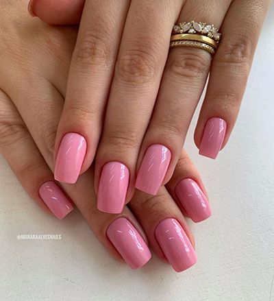 unhas decoradas rosa 8