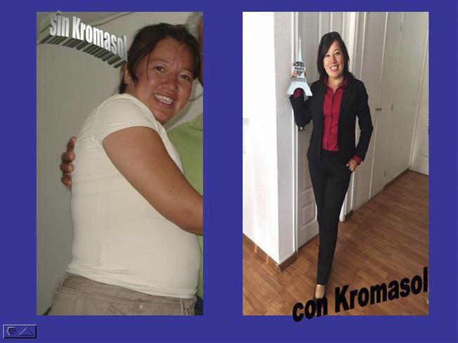 Testimonios kromasol bajar de peso