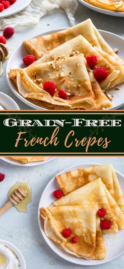 Grain-Free French Crepes #healthyfood #dietketo #breakfast #food
