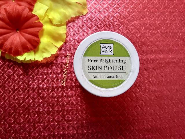 Auravedic Pure Brightening Skin Polish Review