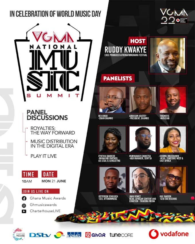 VGMA 1ST NATIONAL MUSIC SUMMIT – MEET YOUR SPEAKERS