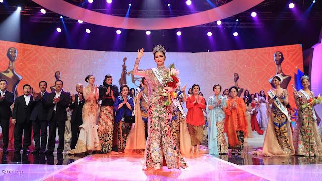 Selamat, Sonia Fergina Asal Bangka Belitung Berhasil Rebut Mahkota Puteri Indonesia 2018