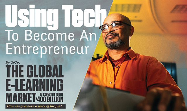 Using Tech To Become An Entrepreneur #infographic