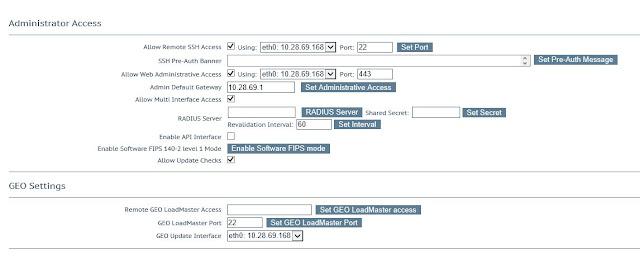 Kemp WUI Admin Access