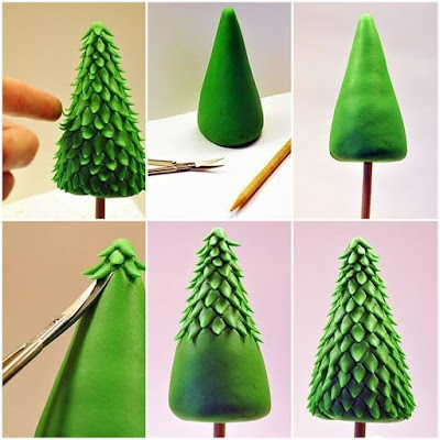 DIY tree christmas