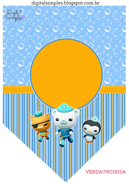 The Octonauts Free Printable Banner.