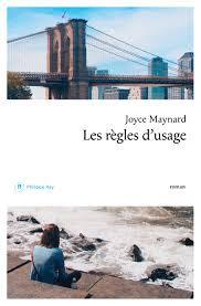 Couverture de Les règles d'usage, Joyce Maynard