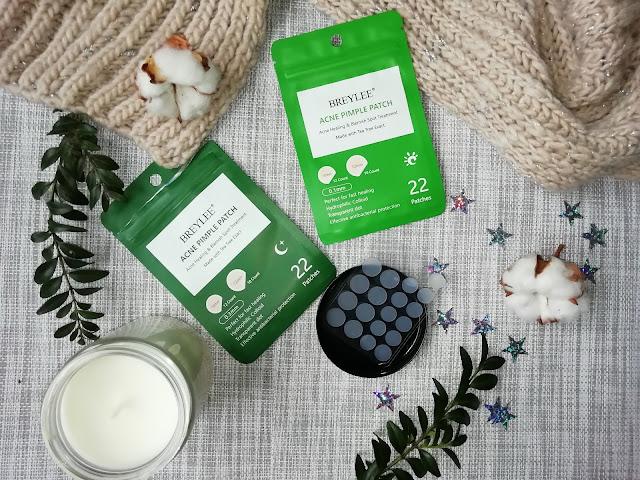Breylee Acne pimple patch Патчи с маслом чайного дерева от прыщей косметика с алиэкспресс
