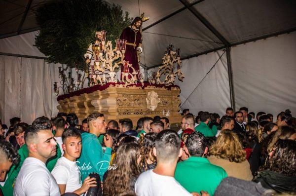 La Hermandad de la Misericordia en su Prendimiento de Villamartín cierra con la banda de Los Angeles de Sevilla