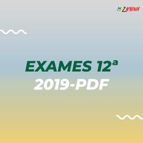 Baixar Exames da 12ª Classe 1ª EP 2019 em PDF