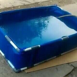 Cara pembuatan kolam terpal dari awal