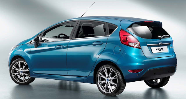 New Fiesta 2013 com facelift