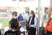 Pemprov Kaltara Serahkan Bantuan Bagi Korban Bencana Alam Seroja di NTT