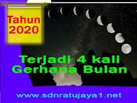 Tahun 2020 Gerhana Bulan Penumbra akan Terjadi 4 Kali, Kapan itu Terjadi?