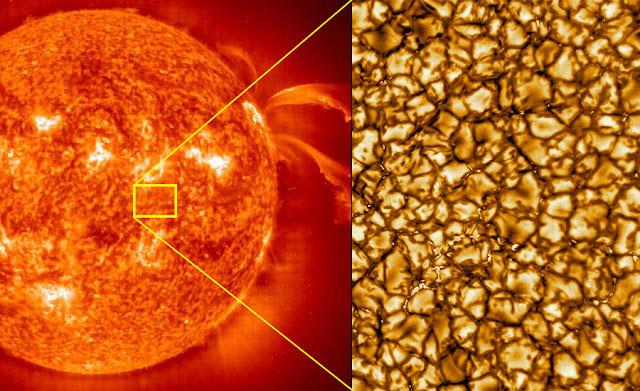 Gambar Matahari Dengan Resolusi Tertinggi Pernah Diambil Setakat Ini