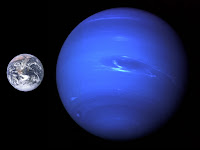 Comparison of the Earth to Neptune