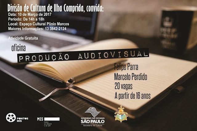 Cultura da ilha Comprida abre inscrições para oficina de produção audiovisual