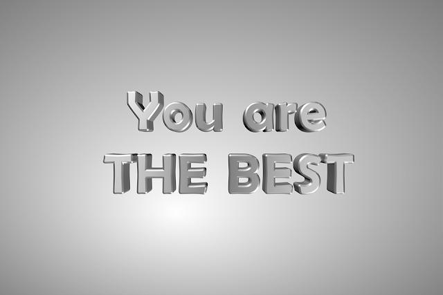 أنت الأفضل