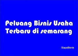 Peluang Usaha Terbaru di Semarang