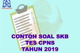 Contoh Soal SKB CPNS Formasi Lengkap