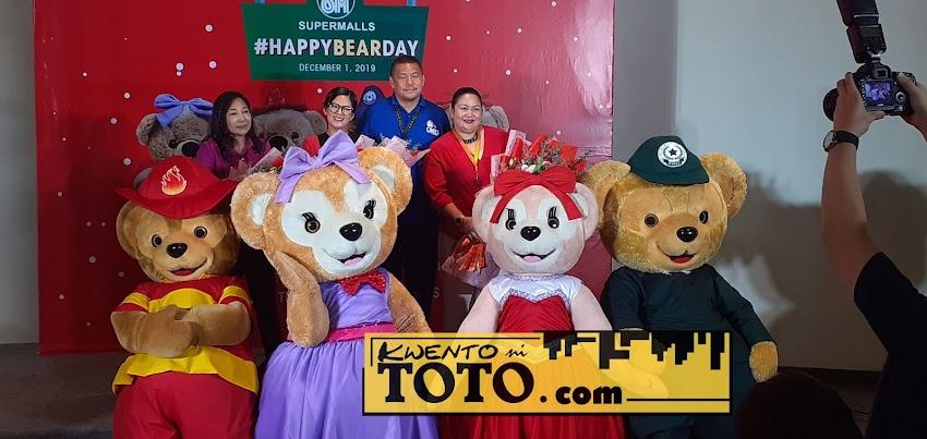 SM Supermalls' Joy Squad in Celebrating #HappyBearDay