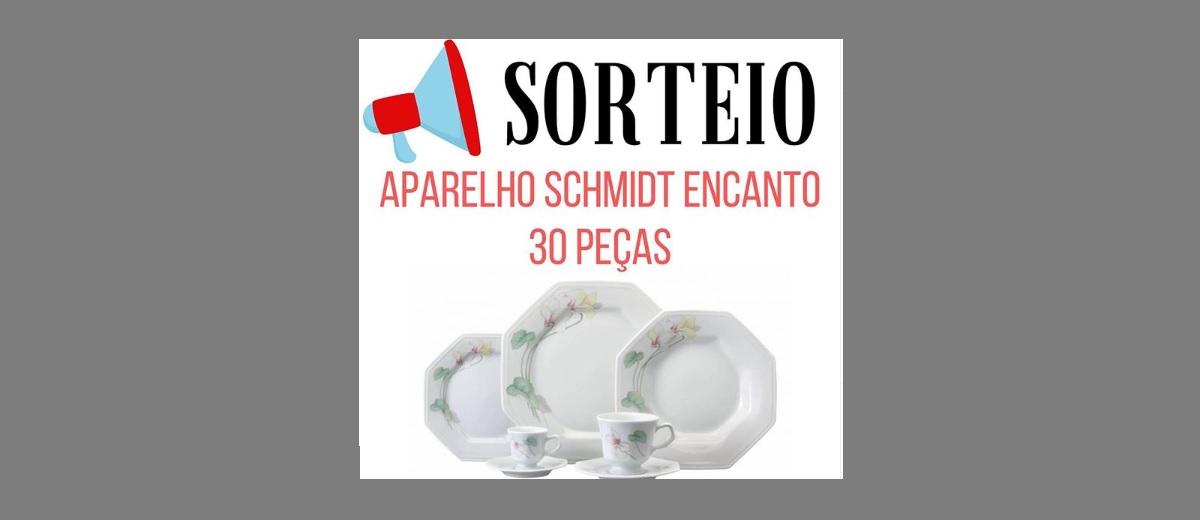 Sorteio Mascate Casa Aparelho 30 Peças Schmidt