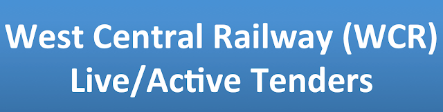 West Central Railway (WCR) Live/Active Tenders