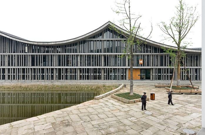 Palestra de Wang Shu - China no Pritzker