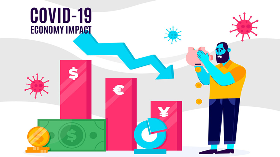 Impact of COVID-19 on The Indian Economy #infographic