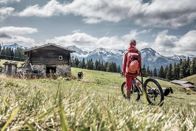 MTB - Großer Nock 2021 m.ü.A. bei Mauls Mountainbike Tour am Brenner