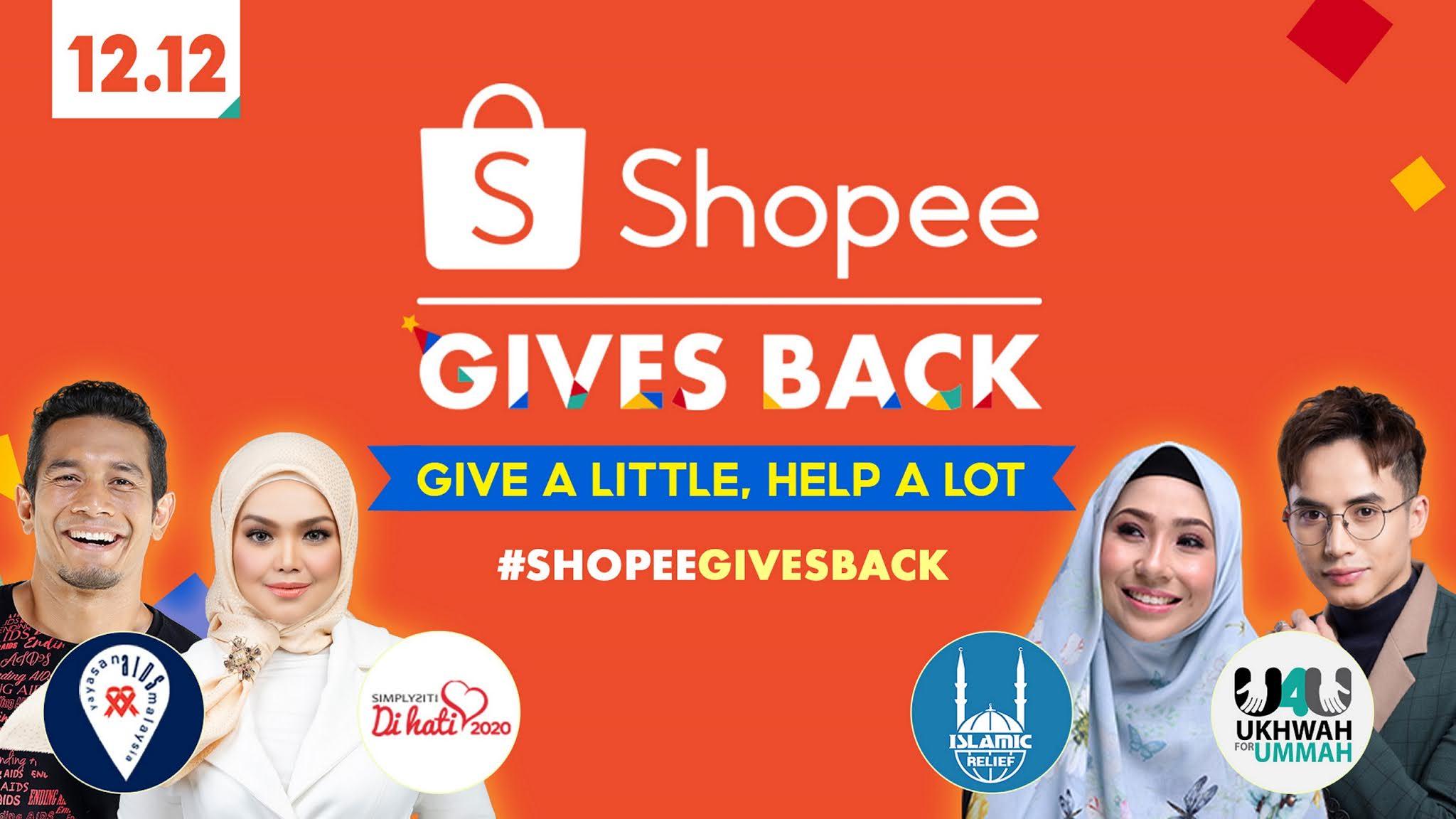 Shopee 12.12 - 5th Anniversary Birthday #ShopeeGivesBack