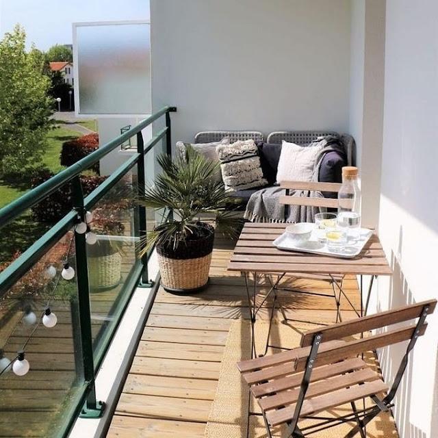 Desain Balkon Rumah yang Kecil dan Minimalis