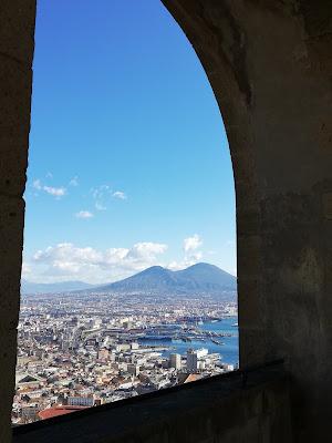vista da castel Sant'Elmo