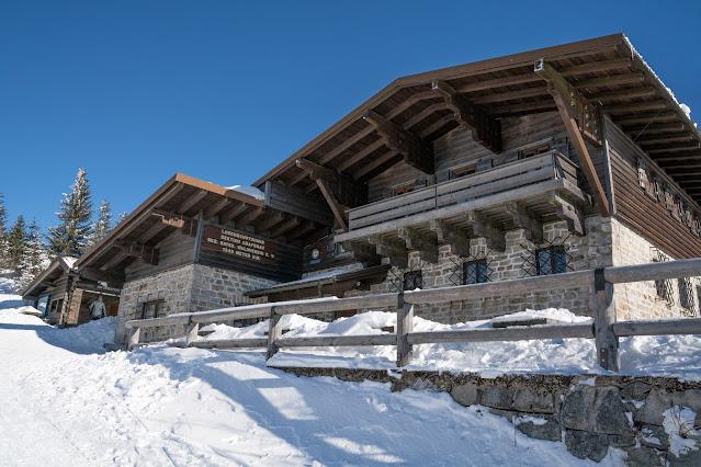 Wanderung auf den Lusen  Winterwandern im Nationalpark Bayerischer Wald 17