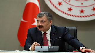 وزير الصحة التركي يعلن عن حصيلة جديدة من الإصابات والوفيات بفايروس كورونا
