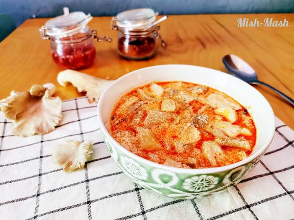 Супа от кладница (Фалшива шкембе чорба)
