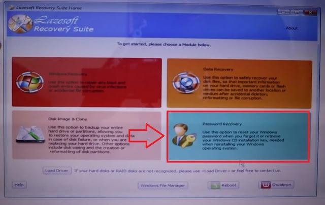 تحميل شرح lazesoft recovery suite home edition