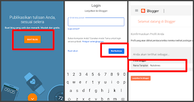 Tutorial blogger android 2020