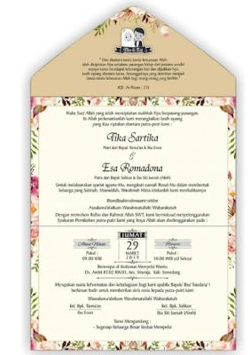 Download Kumpulan Template Undangan Pernikahan