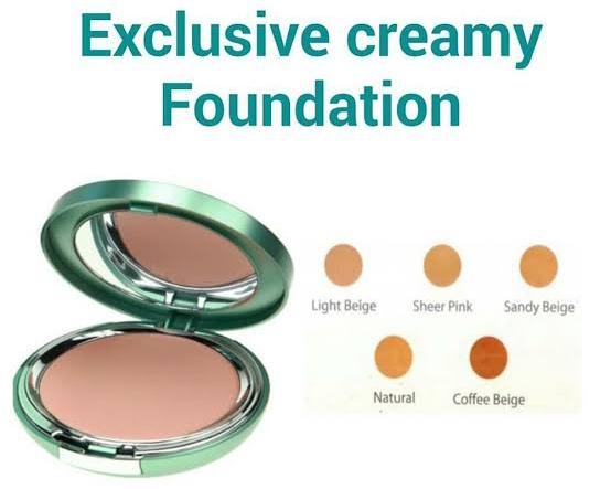 Foundation Exclusive Creamy untuk kulit berminyak dan berjerawat