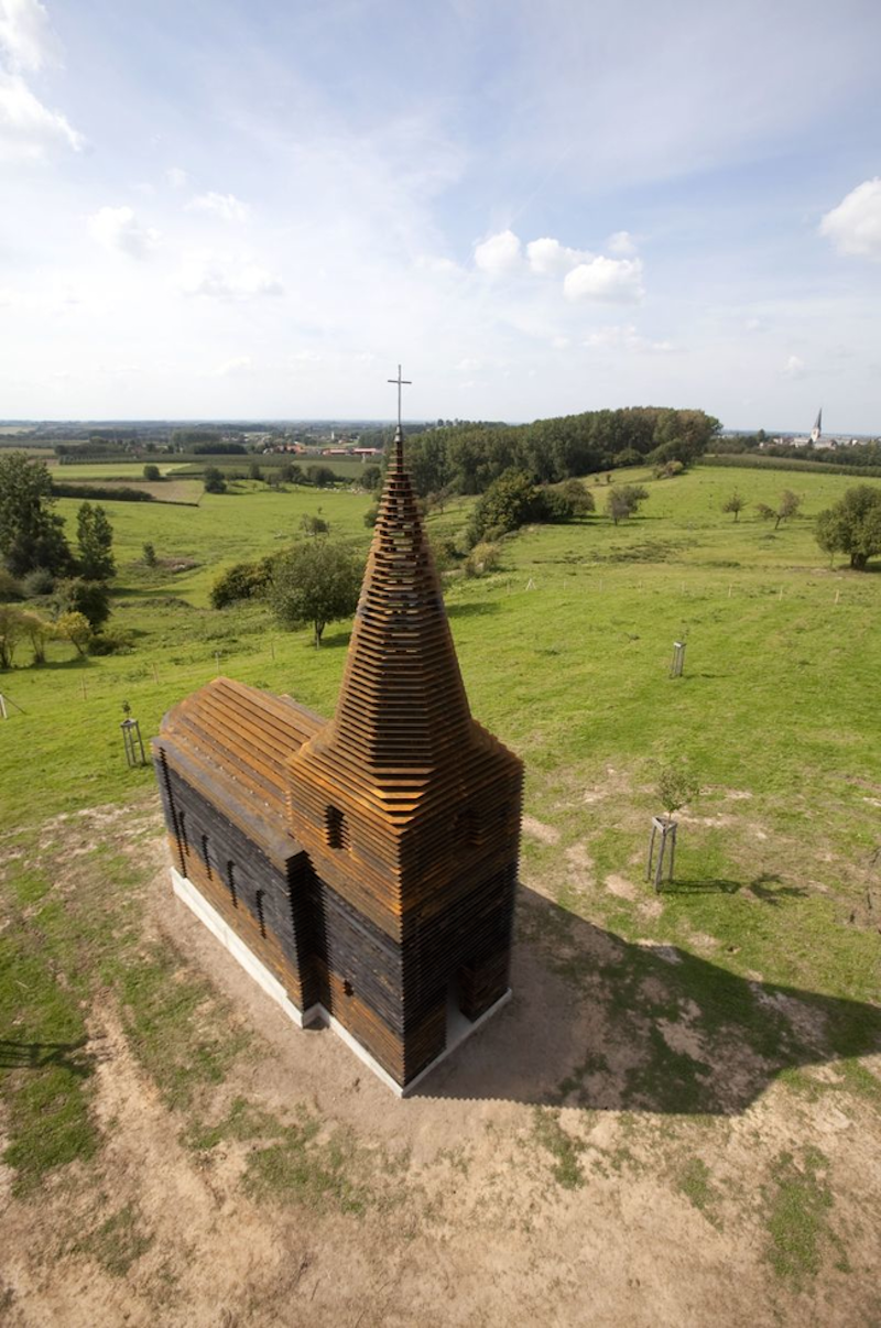 This Church Will Disappear In Front Of Your Eyes - And It's Not A Magic Trick