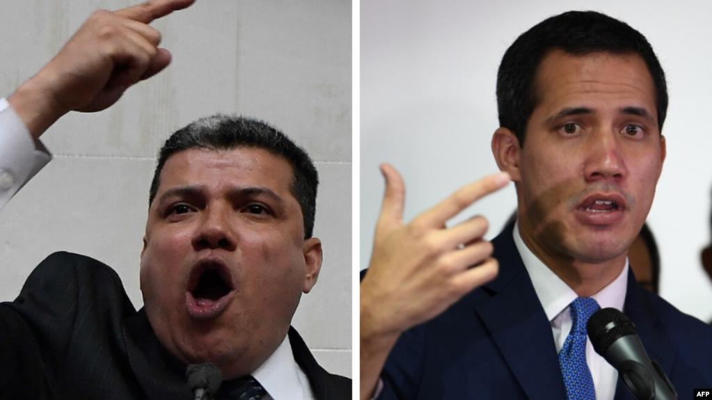 Tras los hechos del domingo 5 de enero de 2020, Venezuela enfrenta una nueva dicotomía en su estructura de poder, al menos nominalmente / AFP