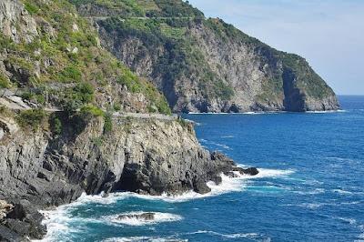 Via dell'Amore- The Way of Love -  the dramatic Cinque Terre coast
