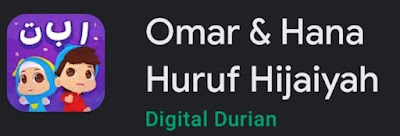 Game Omar & Hana Huruf Hijaiyah