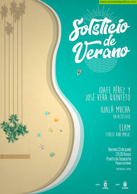 El Cabildo propone una cita con la música de Ojalá Muchá y del quinteto de Idafe Pérez y José Verá para celebrar la llegada del verano