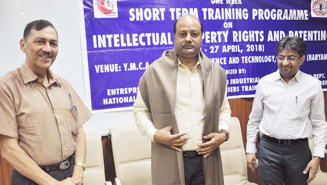 Organizing program on 'Intellectual Property Rights and Patent Processing' in YMCA