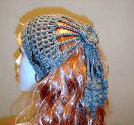 Diadema Rusa en Crochet Patron