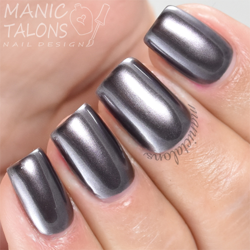Madam Glam Metallic Gel Losing Control Swatch