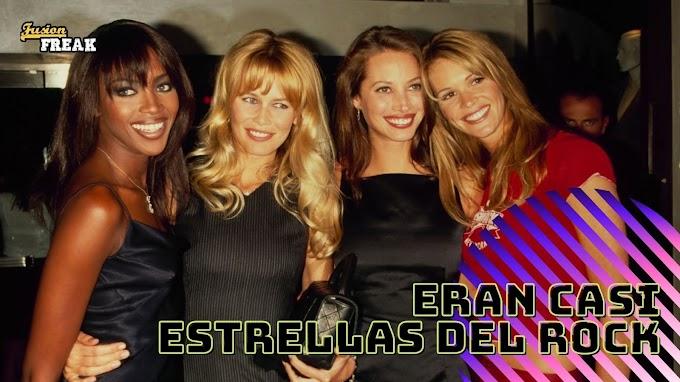 Supermodelos de los noventa en los videos musicales de aquella década.