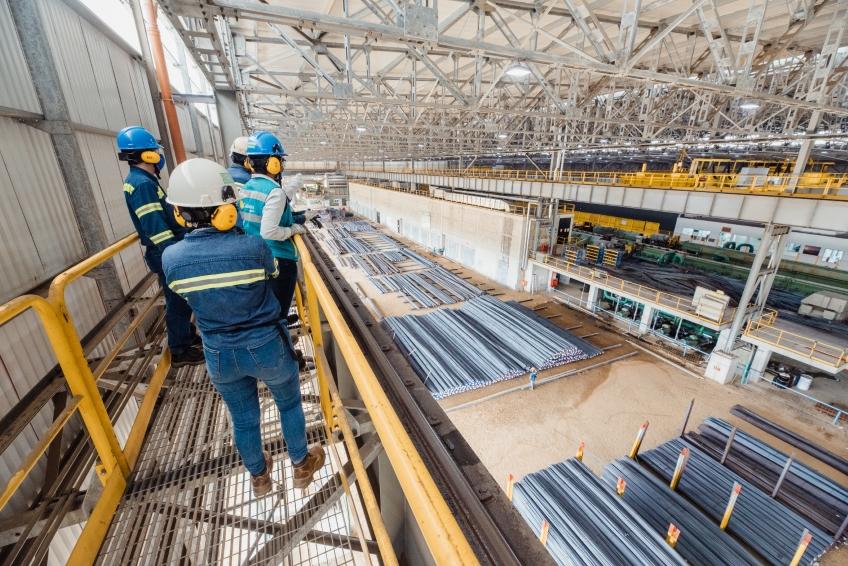 A 200 días de su inauguración, Ternium avanza para triplicar su producción de acero en Colombia